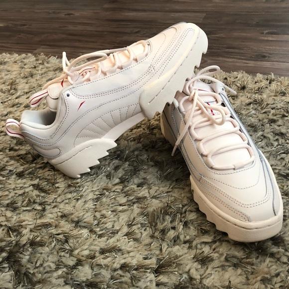 Reebok Shoes | Reebok Light Pink Chunky